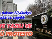 ABD'nin Ankara Büyükelçisi Dışişleri'ne çağrıldı