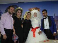 Elif ile Muzaffer evlendiler