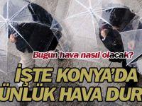 Bugün hava nasıl olacak? İşte Konya'da 5 günlük hava durumu