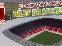 ZTK final maçında bilet bilmecesi!