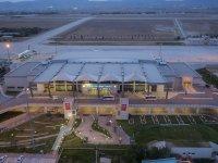 Konya Havalimanı 4 ayda 350 bin yolcuya hizmet verdi
