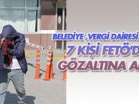 Konya'da belediye, vergi dairesi çalışanı 7 kişi  FETÖ'den gözaltında