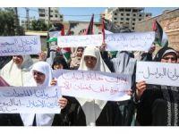 "Gazzeli kadınlardan ""Trump protestosu"""