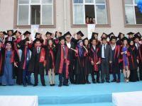 Karapınar MYO'da mezuniyet sevinci