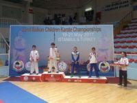 Balkan Karate Şampiyonasında sporculardan 3 madalya