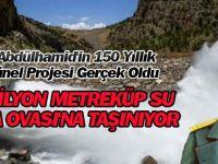 Sultan Abdülhamid'in 150 Yıllık Mavi Tünel Projesi Gerçek Oldu