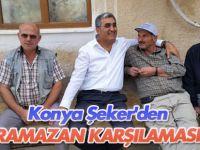 Konya Şeker'in Ramazan karşılaması