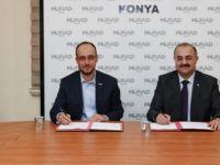 MÜSİAD Konya ile İTÜ-KKTC arasında iş protokolü imzalandı