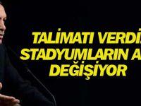Cumhurbaşkanı Erdoğan: 'Arena' İsmini Statlardan Kaldırıyoruz