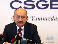 Müezzinoğlu: Kıdem tazminatı düzenlemesi Bakanlar Kurulu'na sunulacak