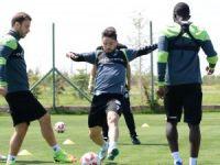 Konyaspor'da Başakşehir maçı hazırlıkları başladı