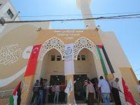 Gazze'deki Onbaşı Hasan Cami hizmete açıldı