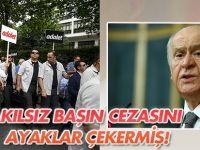 Bahçeli'den Kılıçdaroğlu'na yürüyüş tepkisi: Akılsız başın cezasını ayaklar çekermiş