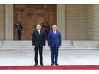 Moldova Cumhurbaşkanı Dodon Azerbaycan'da