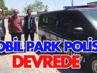 Konya'da Mobil Park Polisleri devrede