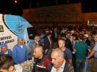 Kadir Gecesi'nde Ereğli Belediyesi'nden ikram ve hizmet zenginliği