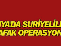 Konya'da Suriyelilere Şafak Operasyonu: 80 Gözaltı