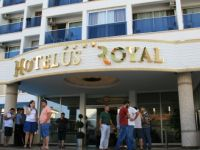 Otel iflas mesajı attı tatilciler mağdur oldu