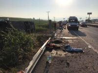 Balıkesir'de Otobüs Devrildi: 1 Ölü, 47 Yaralı