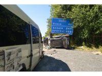 Düzce'de trafik kazası: 6 yaralı