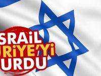 İsrail, Suriye'de askeri hedef vurdu