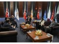 MHP'den AK Parti'ye bayram ziyareti