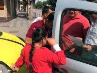 Konya'da Suriyeli Aile Küçük Kızını Otobüste Unuttu