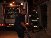 Konya'da müstakil evde yangın
