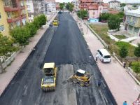 Menzil Caddesi asfaltlandı