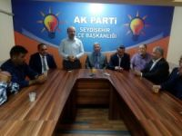 AK Parti Seydişehir Teşkilatı bayramlaştı