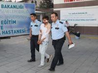 Afgan tacizci hastanelik edildi