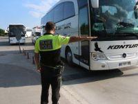 Otobüslerde Denetimler artırıldı