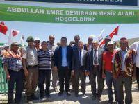 Yunak'ta Halil Köroğlu parkı Yörük şenliğiyle hizmete açıldı.