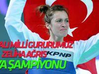 Konyalı Milli Tekvandocu Zeliha Ağrıs Dünya şampiyonu