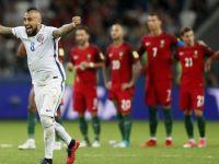Portekiz, Bravo'yu geçemedi! Şili finalde!