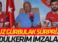 Abdülkerim Bardakçı  ve Oğuz Gürbulak Samsunspor'la imzaladı