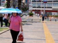 Aydın'da sıcak hava nedeniyle hamile ve engellilere izin