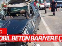 Konya'da Otomobil, Beton Bariyere Çarptı: 1 Ölü, 2 Yaralı