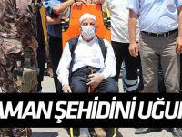 Karamanlı şehit polis son yolculuğuna uğurlandı