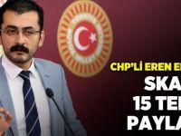 CHP'li Erdem'den skandal 15 Temmuz paylaşımı