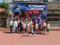 Teniste 15 Temmuz Şehitleri Anma turnuvası