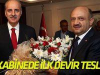 Başbakan Yardımcısı Işık, görevini Kurtulmuş'tan devraldı