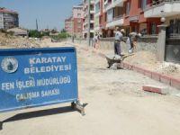 Karatay Belediyesi hız kesmiyor