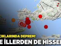 Ege'de 6.3'lük deprem!