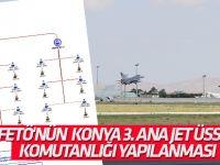 İşte FETÖ'nün 3. Ana Jet Üs Komutanlığı yapılanması