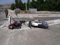 Konya'da Motosikletler Çarpıştı: 1 Ölü
