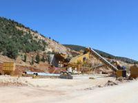 Bozkır Belediyesi Taş Kırma ve Eleme Tesisini Yeniledi