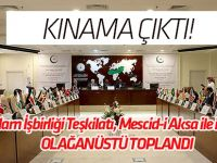 İslam İşbirliği Teşkilatı toplantısından kınama çıktı!
