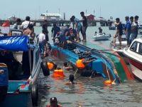 Endonezya'da sürat teknesi devrildi: 10 ölü