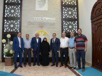 15 Temmuz'un Sembolu Şerife Boz'dan Rektör Şahin'e Ziyaret